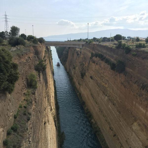 Escapade en Grèce: découverte de Corinthe et de son canal